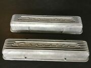 Corvette 7 Fin Valve Covers Even Holes Early And03959 And Later No Casting Flaw