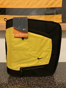Nwt Vintage 90s Nike And Mead 3 Ring Binder School Trapper Keeper Black Yellow