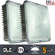 Wyzm 45w Led Canopy Light Outdoor Led Gas Station Square Lights Waterproof Ip65