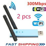 300mbps Dual Band 2.4ghz Wireless Internet Usb Wifi Network Antenna Adapter A7z6