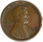 1917-d Lincoln Cent Choice Bu Uncertified 320
