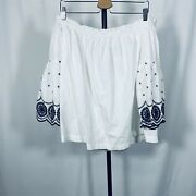 Gap Peasant Top Size 2x Plus Blouse Off Shoulder Balloon Sleeves Hipster Trendy