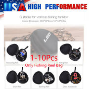1-10x Fishing Reel Bag Cover Baitcasting/drum/spinning/raft Reel Protective Case