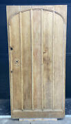 X Large Solid Oak Old Front Door Period Antique Leaded Reclaimed Manor Barn Wood