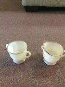 Vintage Oven Fire King Tea Cup And Creamer Used Only As Decoration Good Shape