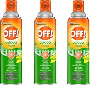 3 Off Yard And Deck Outdoor Fogger Repels Insect Mosquito Flies 6 Hrs. 16 Oz.