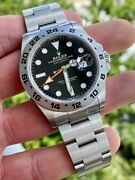 2021 Rolex Explorer Ii 226570 Black 42mm New W/ Box And Papers
