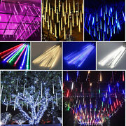 50cm 10 Tube 540 Led Meteor Shower Rain Drop Icicle Fall Xmas Party String Light