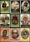 1958 Topps Football Complete Set 2.5 - Gd+