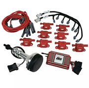 Msd 60153 Red Direct Ignition Controller Kit Small Block Ford 351w 9.5 Deck Heig