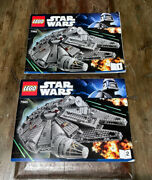 Lego Star Wars Millennium Falcon 7965 Instruction Manual/booklet Only 1 And 2