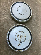 2 10 1/2 Ford Pickup Steel Dog Dish Hubcaps 08122111