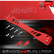 Red Lower Control Arm Subframe Suspension Brace For 96 97 98 99 00 Honda Civic