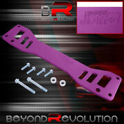 For Rsx Civic Si Ep3 Rear Lower Subframe Reinforcement Brace Bar Purple Hardware