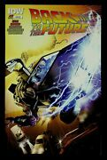 Back To The Future 20th Print 1 Vfnm Schoonover Aod Collectibles Variant