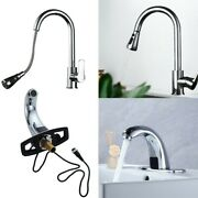 Kitchen Sinks Automatic Sensor/pull-out Brass Faucet Kitchens Bathrooms, Silver