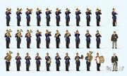 Preiser 13255 Gauge H0 Figurines, Württemberg Military Band New In Boxed