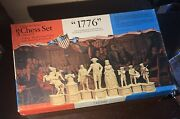 Classic Games Collectors' Series Chess Set Edition Vi 1776limited Edition