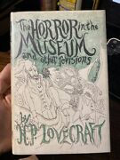 The Horror In The Museum And Other Revisions By H. P. Lovecraft 1st Edition 1970