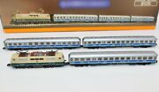 Z Scale Marklin 8105 Airport Express Br 111 Electric Loco And Passenger Cars Set