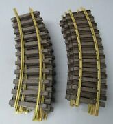 Lgb G Scale Assorted Straight And Curved Track Sections [25] Ex