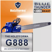 122cc Holzfforma Blue Thunder G888 Gasoline Chainsaw Without Guide Bar Saw Chain