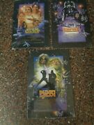 Star Wars Original Movie Trilogy Tin Metal Collectible Signs 9 X 13 New Sealed