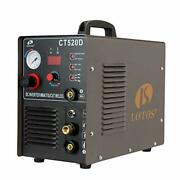 Lotos Ct520d 50 Amp Air Plasma Cutter 200 Amp Tig And Stick/mma/arc Welder 3 In