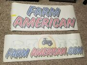 Large Lot Of Nascar Farm American Decals 78 For Sheetmetal. Not Race Used