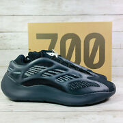 Adidas Yeezy Boost 700 V3 Alvah Mens Size 10 Black H67799 New Fast Free Ship
