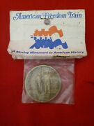 American Freedom Train Medal A Moving Monument To American History Medal 1.5 Ro