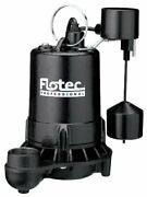 Flotec E75vlt Professional Submersible Sump Pump With Vertical Float Switch,.