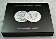 40 Coin Presentation Display Case American Us Silver Eagles W/ Extra Tray
