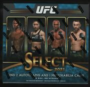 In Stock 2021 Panini Select Ufc Trading Cards Factory Sealed Hobby Box 12 Packs