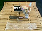 Schrade Old Timer 96ot Bearhead Trapper Usa Carbon Steel Pocket Knife With Box