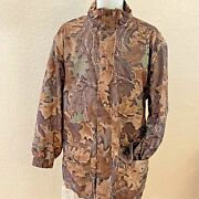 Hunting Jacket L L Bean Menand039s Xl Extra Lg Gore Tex Camouflage Sueded Polyester