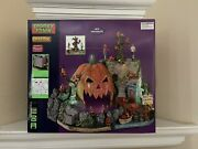 Lemax Spooky Town Isle Of Creepy Jacks 2021 Halloween Village Sights And Sounds
