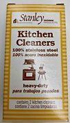 Stanley Home Products Stainless Steel Kitchen And Kettle Cleaners Heavy Duty