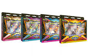 Pokemon Shining Fates Mad Party Pin Collection 4 Box Set