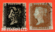 Sg. 3 And 7. As72 And As74. Il . 1d Grey Black And 1d Red Brown. Plate Eleve B52732