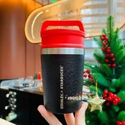 New Starbucks 2020 China Christmas Black Gold 8oz Classical Color Cup Tumbler