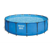 Bestway 56690e 15and039 X 48 Round Steel Pro Max Above Ground Pool Set For Parts