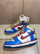 Nike Sb 2009 Stewie Andldquowhat The Deuceandrdquo Family Guy Dunk High Mens Size 8.5 Us