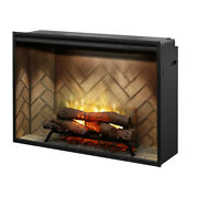Dimplex Revillusion 42andprime Built-in Electric Fireplace