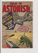 Tales To Astonish 41 Marvel  Approx Vg
