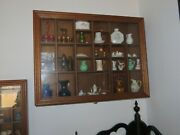 Miniature Vases And Pitchers With Shadow Boxes - Antique And Vintageandnbsp