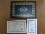 Easton Press President George Bush All The Best Signed First Limited Edition