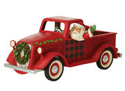 Enesco Country Living By Jim Shore Large Red Truck Nib 6009128