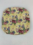 1995 Royal Winton Grimwades Welbeck China 6 1/4andrdquo Side Dish Plate England