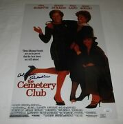 Olympia Dukakis Signed The Cemetery Club 12x18 Movie Poster Jsa